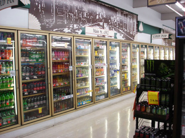 Toledo JC Market Thriftway Drink Aisle