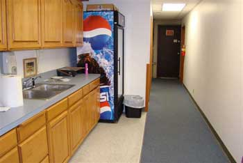 Kitchen area attached