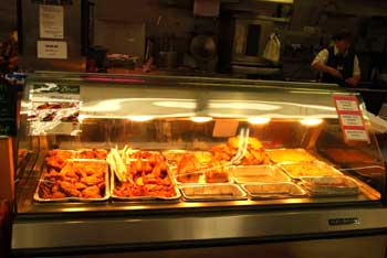 Hot Deli Food Case