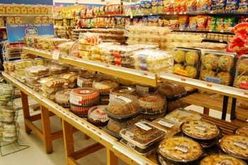 Baked goods aisle
