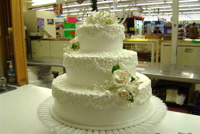 Three Tier Wedding Cake