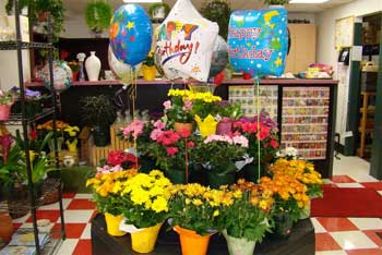 JC Market Floral Department Display