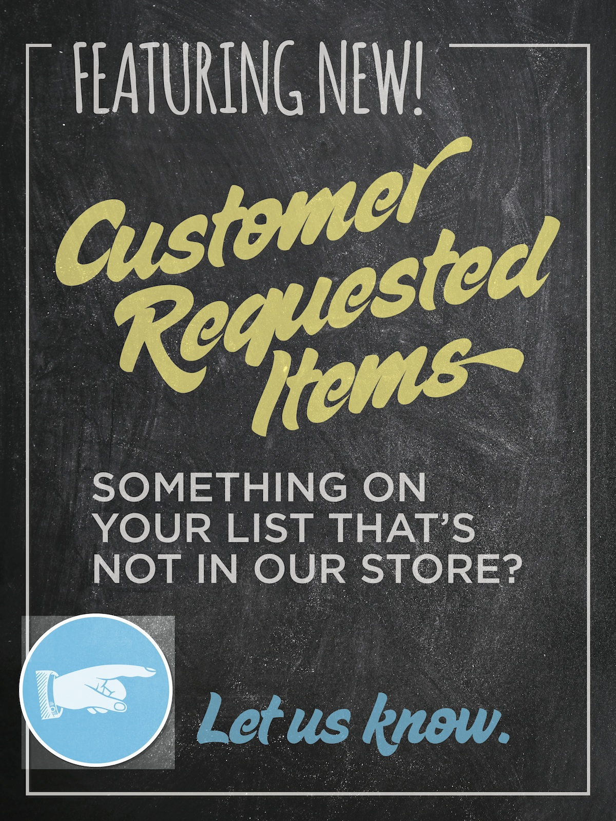 Rays Food Place Customer Requests Request We Want To Satisfy And Delight Our Customers Every Single One At Program Is Designed Do Just That