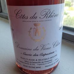 Domaine du Vieux Chêne 'Cuvée des Capucines' Rosé France Wine