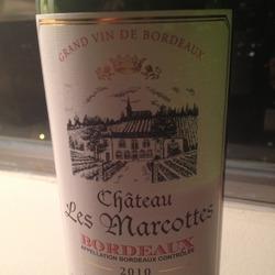Château Les Marcottes France Wine