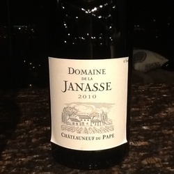 Domain dela Janesse Chateauneuf-du-pape France Wine