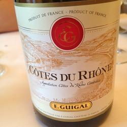 E. Guigal Côtes du Rhône Rouge France Wine