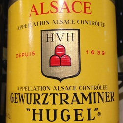 "Hugel et Fils Gewurztraminer ""Hugel"" France Wine"