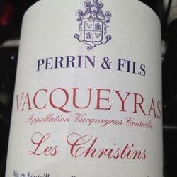 Perrin & Fils Vacqueyras Les Christins France Wine