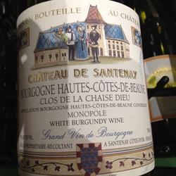 Château de Santenay Clos de la Chaise Dieu France Wine