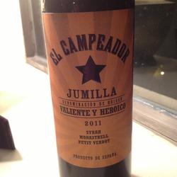 El Campeador Jumilla  Spain Wine