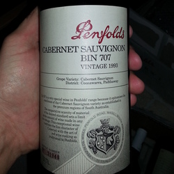 Penfold Bin 707 Cabernet Sauvignon Australia Wine