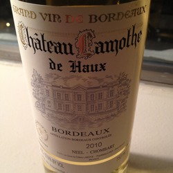 Château Lamothe de Haux France Wine