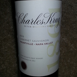 Charles Krug Cabernet Sauvignon United States Wine