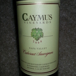 Caymus Vineyards Cabernet Sauvignon United States Wine