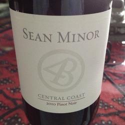 Sean Minor Pinot Noir  Wine