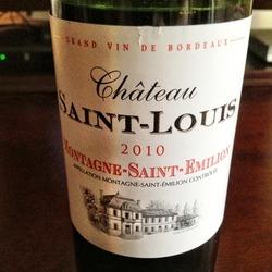 Château Saint-Louis  Wine