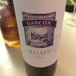 Gascón Malbec  Wine