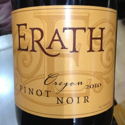 Erath Pinot Noir  Wine