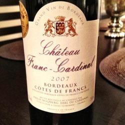 Château Franc-Cardinal  Wine