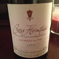 Crozes-Hermitage Les Hauts de Fief  Wine