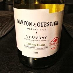 Barton & Guestier Vouvray  Wine