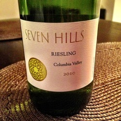 Seven Hills Riesling  Wine