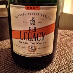 PLR Legacy Blanc de Noirs  Wine