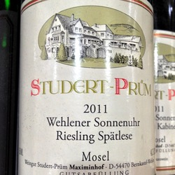 Wehlener Sonnenuhr Riesling Spätlese   Wine