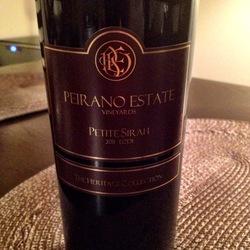 Peirano Petite Sirah  Wine