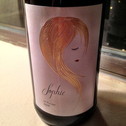 Sophie le Rouge  Wine