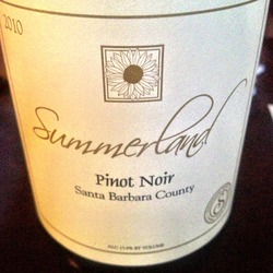 Summerland Pinot Noir  Wine
