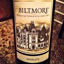 Biltmore Estate Merlot  Wine