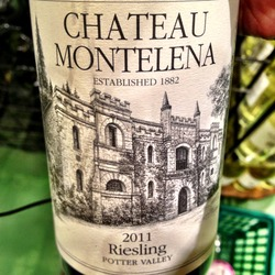 Chateau Montelena Riesling Potter Valley  Wine
