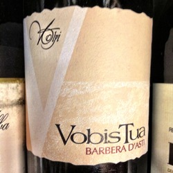 Vobis Tua Barbera d'Asti Superiore Barbera  Wine