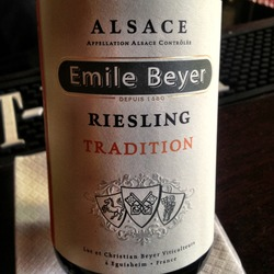 Emile Beyer Riesling Tradition  Wine