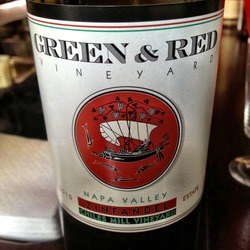 Green & Red 'Chiles' Zinfandel  Wine