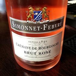 Crémant de Bourgogne Brut Rosé  Wine