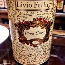 Livio Felluga Pinot Grigio  Wine
