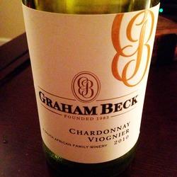 Graham Beck Chardonnay Viognier  Wine