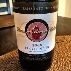 Domaine Berrien Cellars Pinot Noir  Wine