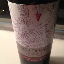 Mas Donis Barrica Old Vines Spain Wine