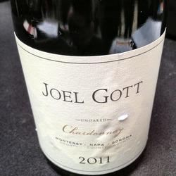 Joel Gott Chardonnay  Wine
