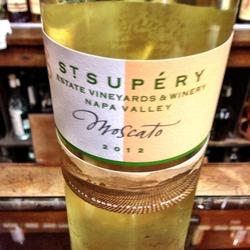 St Supéry Moscato  Wine