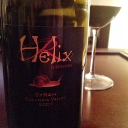 Helix by Reininger Syrah  Wine