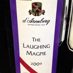 The Laughing Magpie Shiraz  Wine