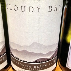 Cloudy Bay Sauvignon Blanc  Wine