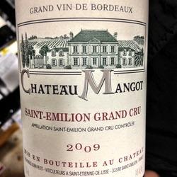 Château Mangot Saint Emilion Grand Cru  Wine
