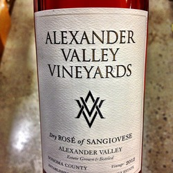 Dry Rosé of Sangiovese  Wine