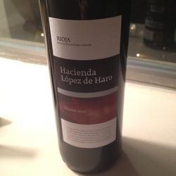 Hacienda López de Haro Crianza Spain Wine